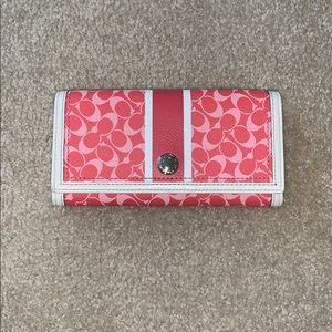Authentic Limited Edition Coach Large Wallet